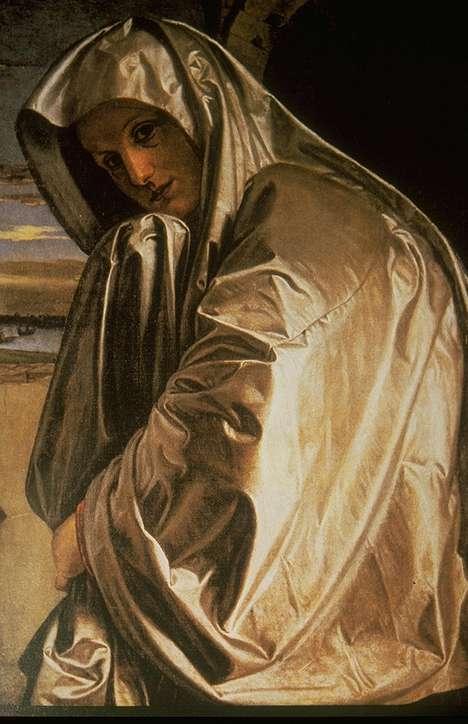 Sainte Marie Madeleine s'approchant du Sépulcre, vers 1530, huile sur toile, National Gallery